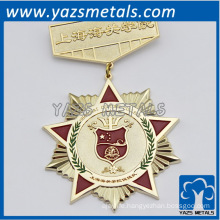 custom made pin badges for custom/government, with design