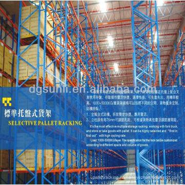 Склад хранения стальной поддон полочных систем