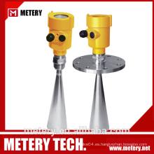 Sensor de nivel de aguas residuales de radar MT100LR de METERY TECH.