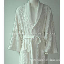100% Cotton Hotel Bathrobe Br-090628s
