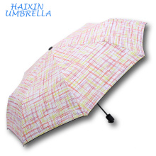 Merchandise Gifts Promotional Wholesale Custom Europe Small Size Golden Lines Design Pocket Umbrella Stock Chinese Supplier