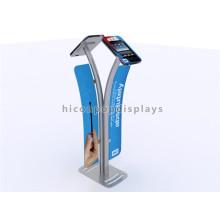Novel Metal Freestanding Double Sides Novos produtos de design Marketing Trade Show Multi Pad Display Stand