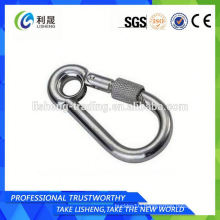 Stainless Steel Locking Snap Hook