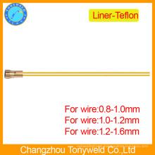 welding telfon liner