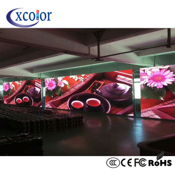Publicidad de la pared video de P5 Led para interior