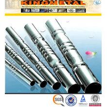 Soudés ASTM A554 201 inox Tube spécial pour meubles