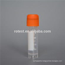 Factory price 2ml cryovial / plastic cryo tube