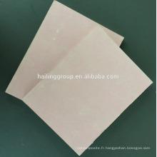 Planche de gypse à face de papier 4x8