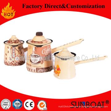 Sunboat menaje / cocina aparato calidad esmalte pote del café
