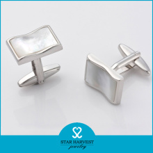2016 Latest Designed Silver Men Cuff Links (SH-BC0001)