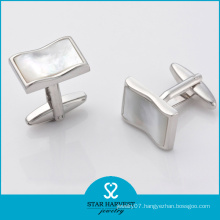 Hot Selling Fancy Brand Brass Cufflinks in Stock (D-0010)