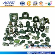 Aofei Manufactory fournir toutes sortes de réglable Pillow Block Bearing dimension sphérique roulement à billes unités de paliers