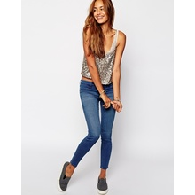 2016 Fabricante personalizado Novo Estilo Hot Sale Skinny Denim Womens Jeans