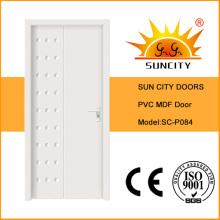 Врезная из ПВХ двери МДФ комната (СК-P084)