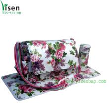 Canvas Coated PVC Waterproof Diaper Bag (YSDB03-33)