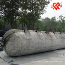 bateau submergé de haute flottabilité airbag de sauvetage en caoutchouc / ponton