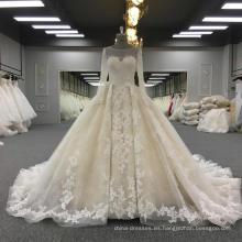 Vestidos de novia del vestido de boda del cordón 2017 WT303