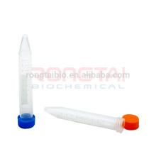 Tubos Centrífugos Rongtaibio com tampa de parafuso 15ml
