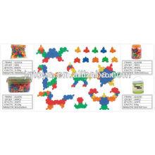 JQ plástico brinquedo educativo brinquedo blocos de construção