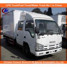 Kühlender Isuzu Reefer-LKW im Thermo-König-Kühlraum Van Truck