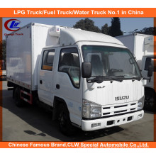 Refrigeração Isuzu Reefer Truck em Thermo King Frigorífico Van Truck