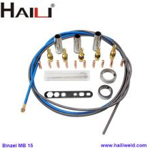 Consumibles de antorcha Binzel mb 15 MIG