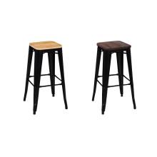 klassisches Design Stuhl Hersteller Lieferant Großhandel besten Preis Metall Barhocker