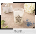 Vela de soja natural personalizada como regalo con hermosa caja