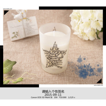 Personalized Natural Soy Candle as Gift with Beautiful Box