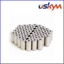 Aimant NdFeB de cylindre avec trou (S-004)