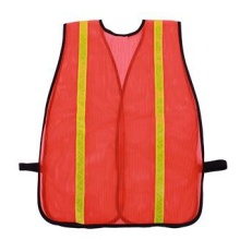 Reflective Mesh Safety Vest with PVC Tape