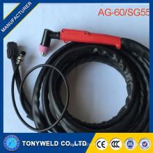AG60 Luftplasmaschneidbrenner Die ganze Fackel AG-60 (SG-55) -5M in Schweißbrennern