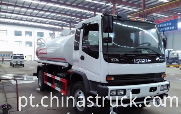 10000 liters ISUZU water sprinkler truck