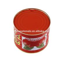 2,2 Kg de tomate orgánico enlatado Tomate orgánico de China Supplier 2016 New Crop