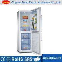 Refrigerador casero de la puerta doble de la puerta Bcd-218W