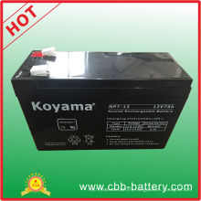 12V 7ah Lead Acid AGM Battery for Emergency Lighting, Scooter