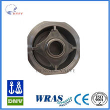 World famous cast iron butterfly wafer check valve