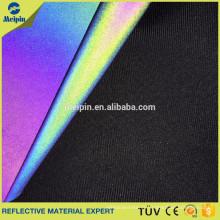 Aurora/ Rainbow/ Multicolor Reflective Spandex Fabric for Sale