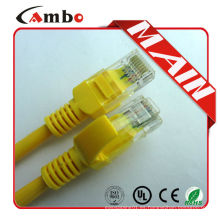 Precio de fábrica 1gb rj45 cable de remiendo del utp cat5e