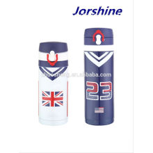 2015 high quality 12oz printed, popular eagle vacuum flask