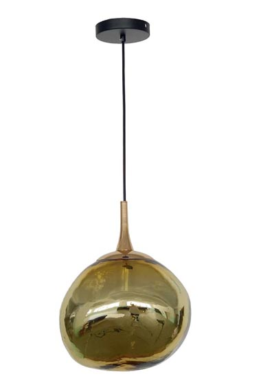 Gold Spherical Simple Light