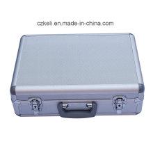 Boîte à outils en aluminium OEM Boîte à outils en métal personnalisée (KeLi-Tool-1078)