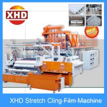 Máquina automática de la película del estiramiento de la capa de 1500m m, máquina confiable de la película de la garra