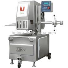 Saucisson à économie d'énergie / jambon Machine à découpage double à deux fils Mecanique pour enveloppes artificielles