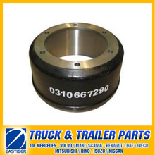 Trailer Parts of Brake Drum 0310667290 for BPW