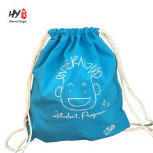 good selling Christmas gift canvas backpack bag