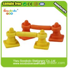 Barricades Shaped Eraser, decoratieve mini gum