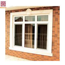 Pequeño pvc deslizante decorativo baño ventana de diseño Pequeño pvc deslizante decorativo baño ventana diseño
