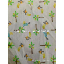 Cartoon cotton flannel fabric for sale