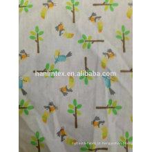 Tecido de flanela de algodão dos desenhos animados à venda